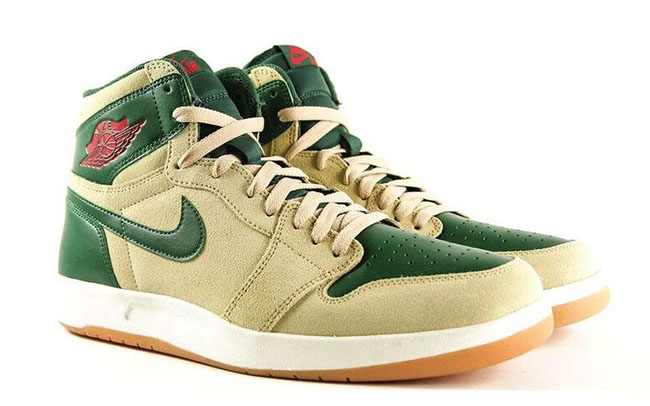 Air Jordan 1.5 Gorge Green Details