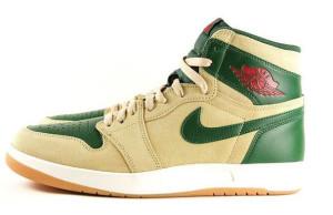 Air Jordan 1.5 Gorge Green Details