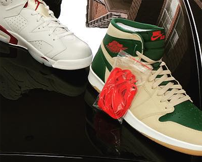 Air Jordan 1.5 Gorge Green Sand Dune