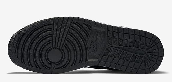 Air Jordan 1 Black Elephant Print
