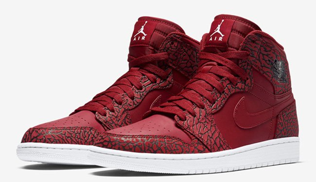 Air Jordan 1 Elephant Red