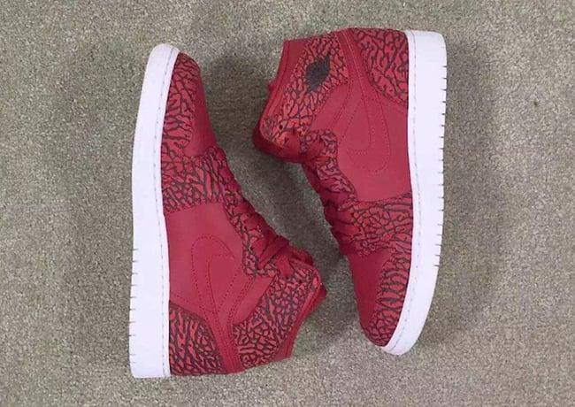 Air Jordan 1 Red Elephant