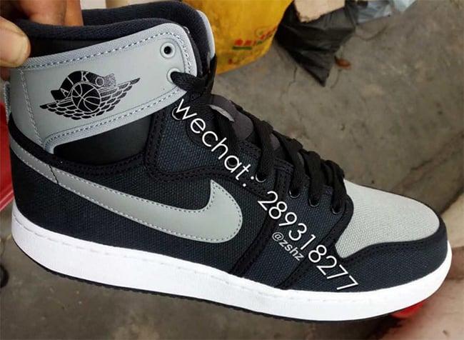 5df422d8646b Air Jordan 1 Retro High KO OG Shadow Black Grey