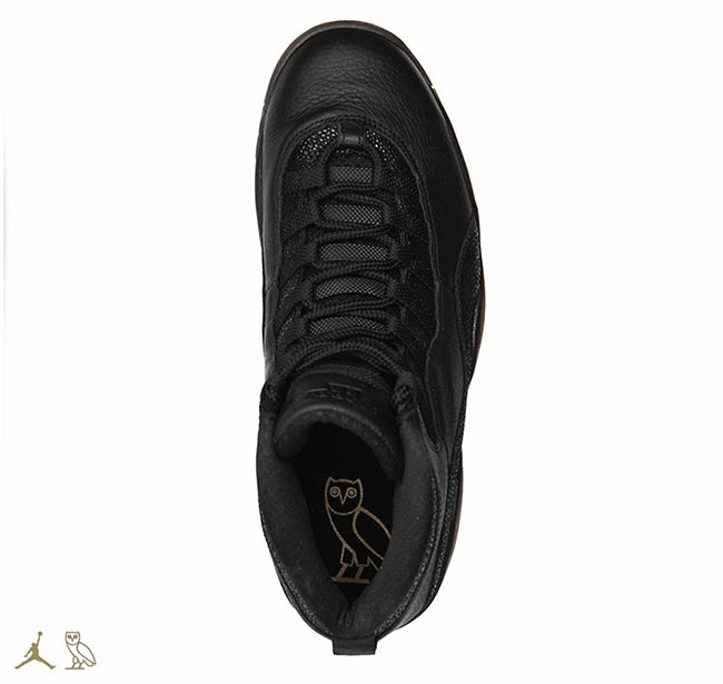 Air Jordan 10 OVO Black 2016 Release