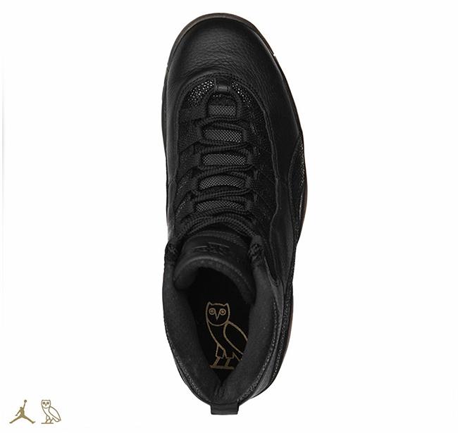 Air Jordan 10 OVO Black 2016 Release