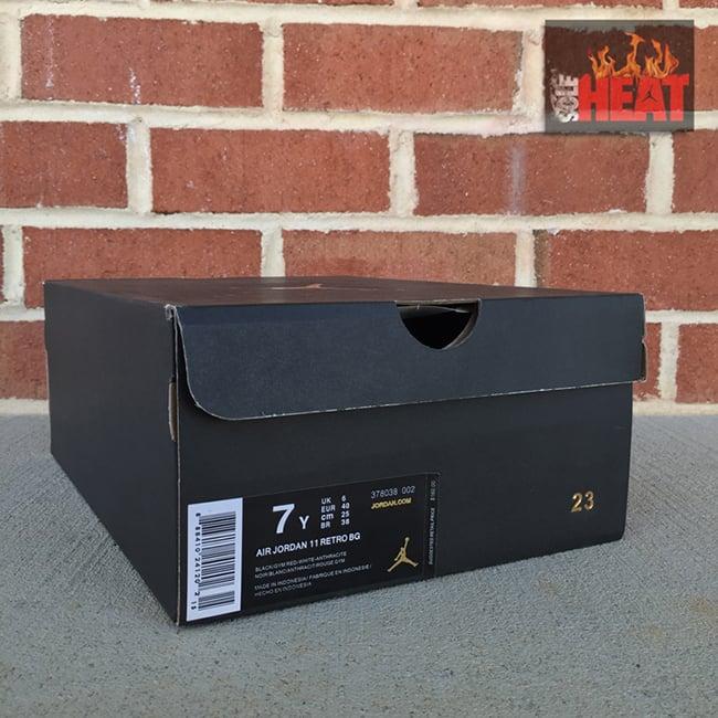 Air Jordan 11 72 10 GS Release