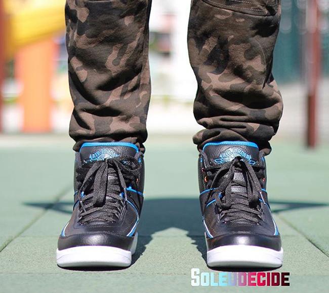 3395bfe6f2dada Air Jordan 2 Radio Raheem On Feet
