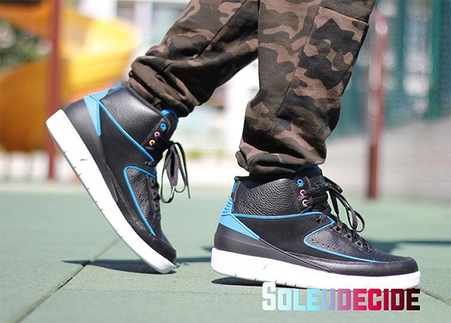 Air Jordan 2 Radio Raheem On Feet