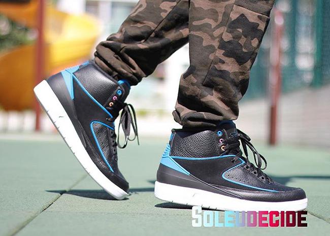 Air Jordan 2 Radio Raheem On Feet