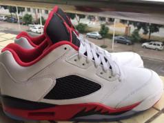 Air Jordan 5 Fire Red Low