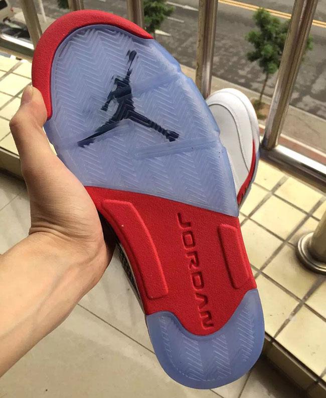 Air Jordan 5 Fire Red Low