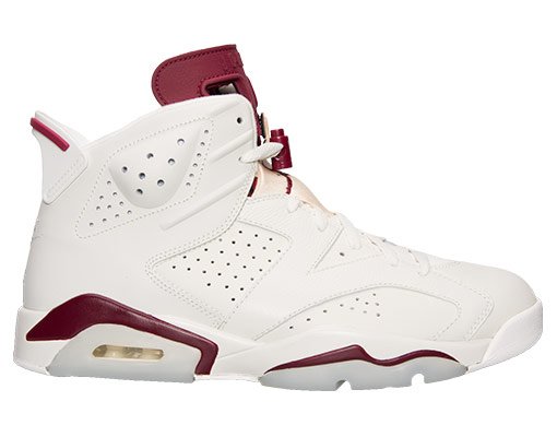Air Jordan 6 Maroon Adult