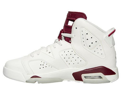 Air Jordan 6 Maroon GS Gradeschool