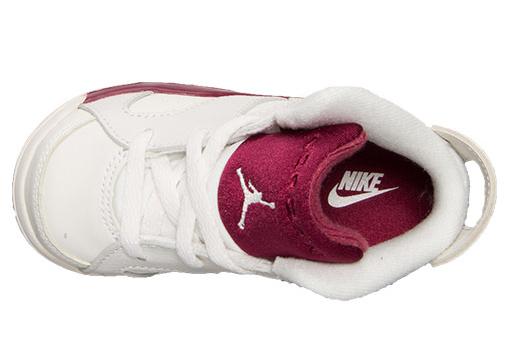 Air Jordan 6 Maroon Toddlers