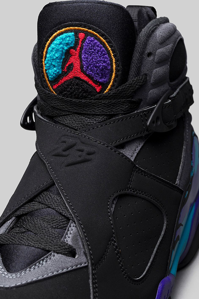 Air Jordan 8 Aqua Black Friday Release
