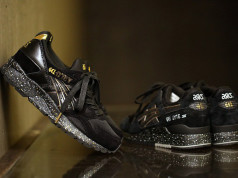 atmos Asics Gel Lyte V Black Gold