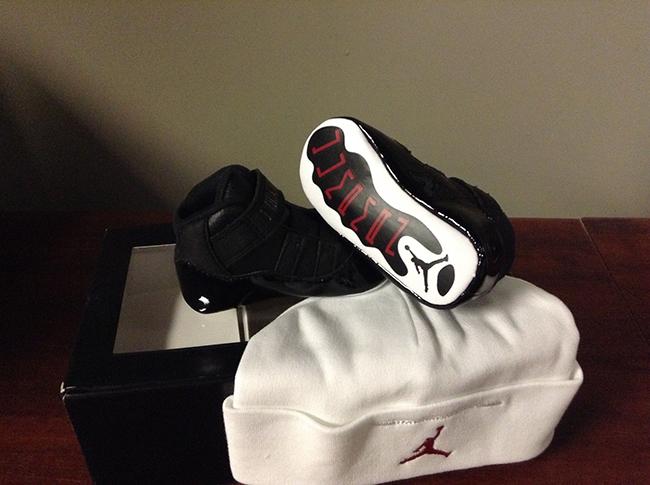 Baby Air Jordan 11 72 10