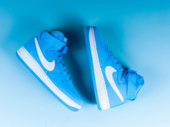 Baby Blue Nike Air Force 1 High OG