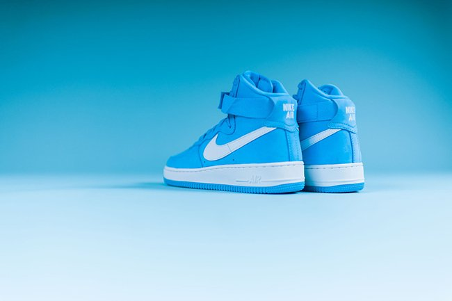 Nike Air Force 1 High Og Baby Blue Release Date Sneakerfiles