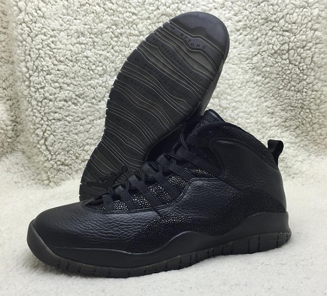 Black Air Jordan 10 OVO 2016