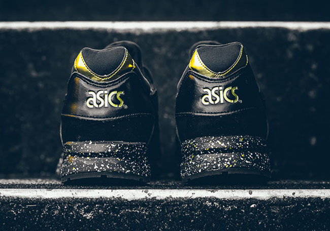 atmos asics gel lyte v black gold sneakerfiles