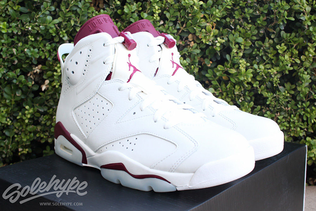 Buy Air Jordan 6 Maroon 2015