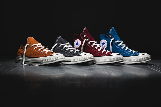 e5d5ad42a04e Converse Chuck Taylor All Star 70s Suede Collection