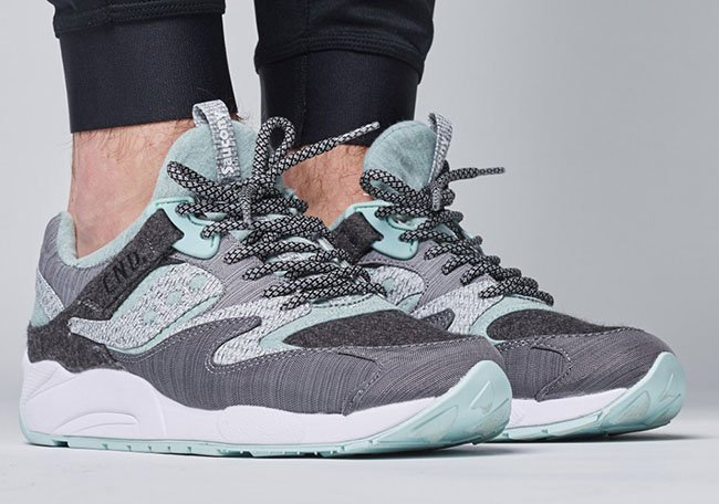 13ae7d6e7ea3 END Saucony Grid 9000 White Noise