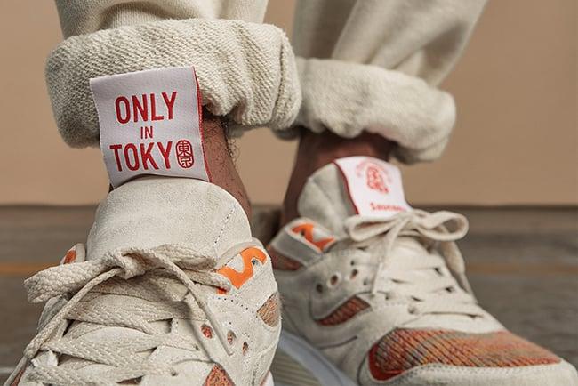 Footpatrol BEAMS Saucony Grid 8000 Only in Tokyo