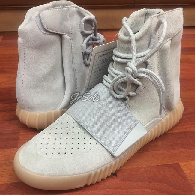 Grey Gum adidas Yeezy 750 Boost