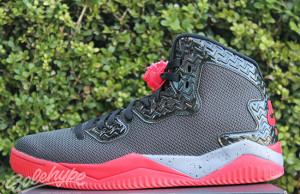Jordan Air Spike 40 Black Fire Red