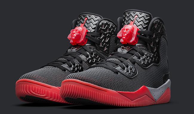 Jordan Air Spike 40 Black Fire Red