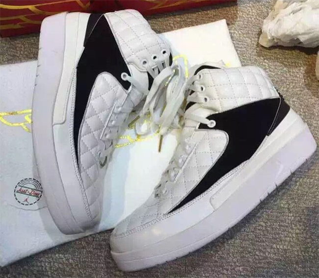 Just Don Air Jordan 2 Don C White Black