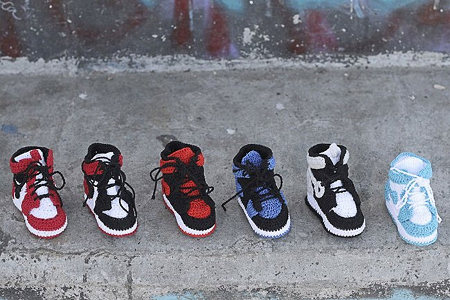 Knit Air Jordan 1 Picasso Babe
