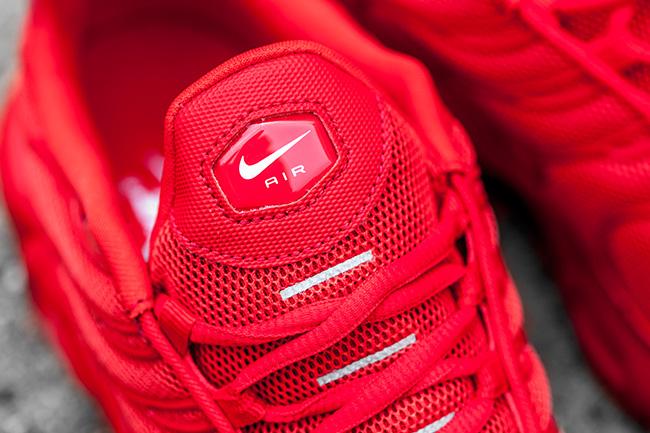 Nike Air Max Plus Sintonizado 1 Lava Roja vkDV3B