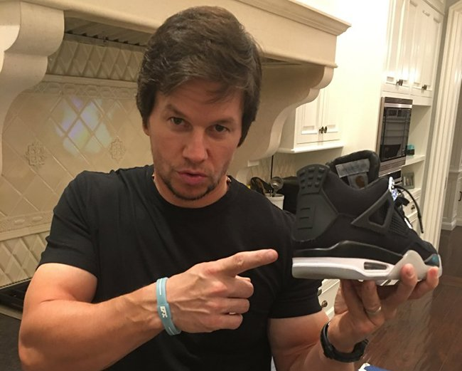 Mark Wahlberg Sneaker Collection