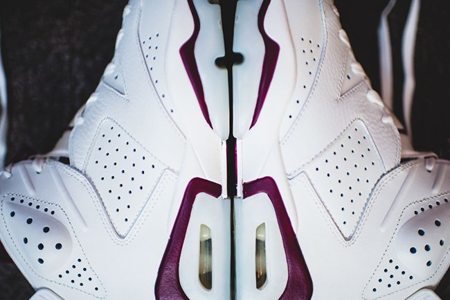 Maroon Nike Air Jordan 6 Saturday
