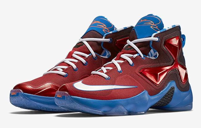 Nike LeBron 13 GS Mini Hoop Release