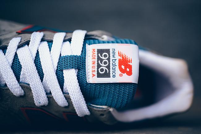 New Balance 996 Retro Ski Blue Ashes