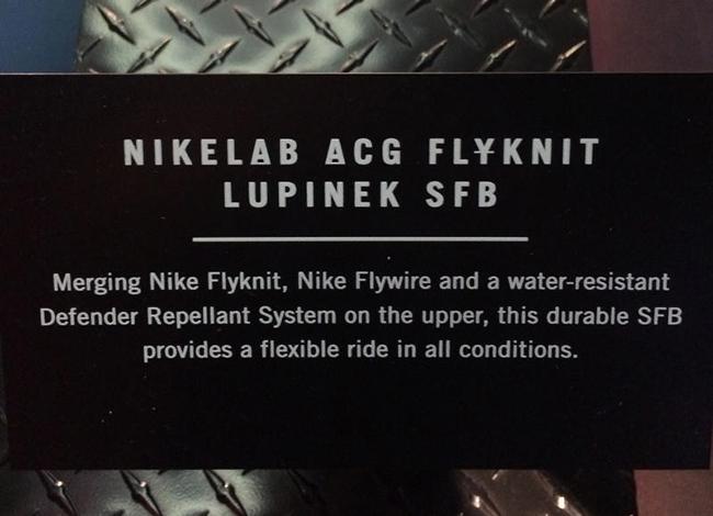 Nike ACG Flyknit Lupinek SFB