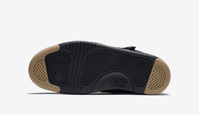 Nike Air Akronite Black Metallic Gold