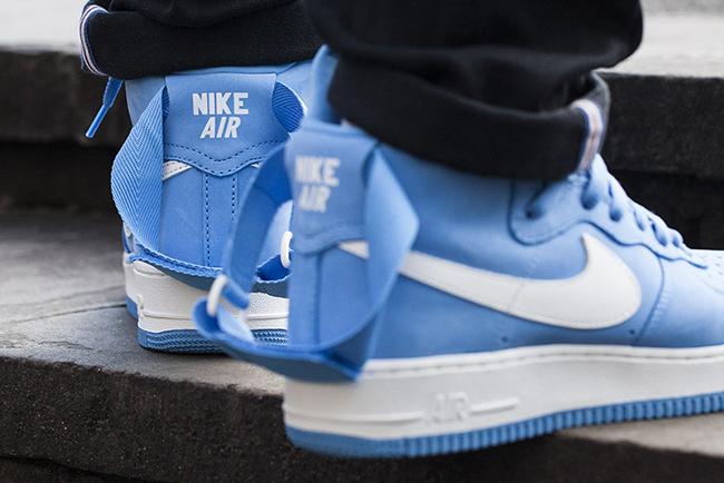 Nike Air Force 1 High OG University Blue Release