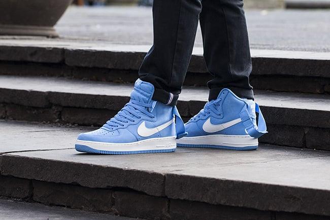 best service 5b26a afdde Nike Air Force 1 High OG University Blue Release