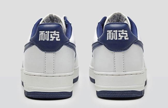 Nike Air Force 1 Low Nai Ke White Blue