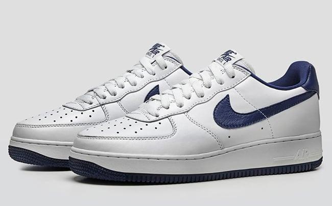 Nike Air Force 1 Low Nai Ke White Blue Sneakerfiles