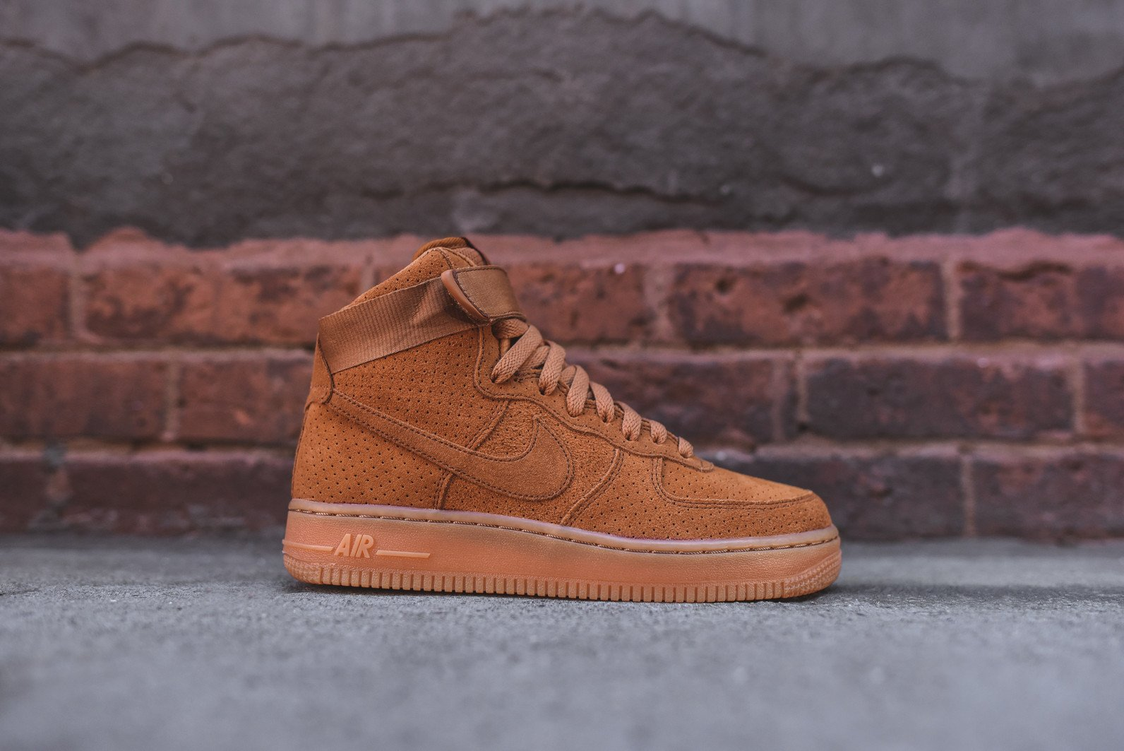 Nike Air Force 1 Perforated Suede Pack | SneakerFiles