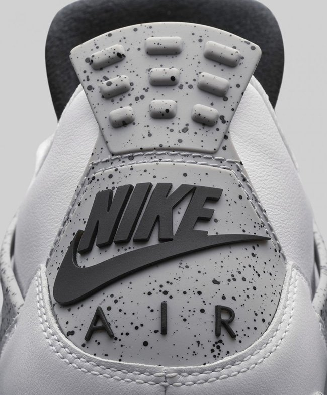 Nike Air Jordan 4 OG White Cement 2016
