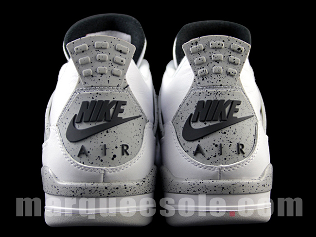 Nike Air Jordan 4 White Cement 2016