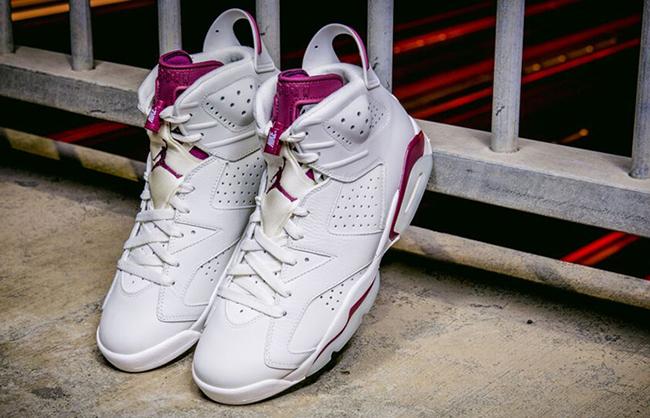 Nike Air Jordan 6 Maroon Retro