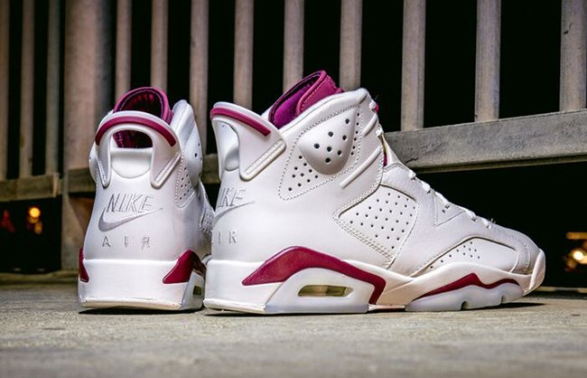 Nike Air Jordan 6 Maroon Retro